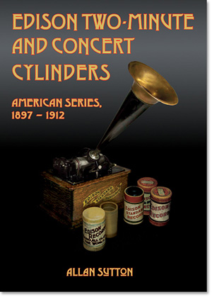 Edison Cylinder Records: Two-Minute Brown Wax, Concert, Gold Moulded
