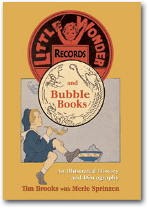 Little Wonder and Bubble Book 78rpm records